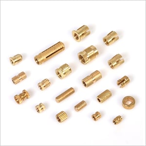 Industrial Brass Moulding Inserts