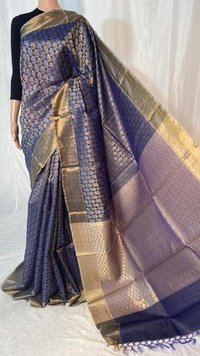 Pure Kosa Silk  Handloom Full Jari Jala Saree