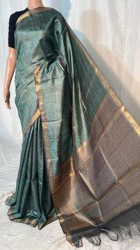 Pure Kosa Silk  Handloom Full Jari Jala Saree