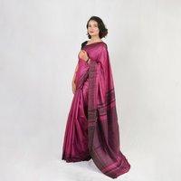 Pure Tussar Gheecha  Silk Saree