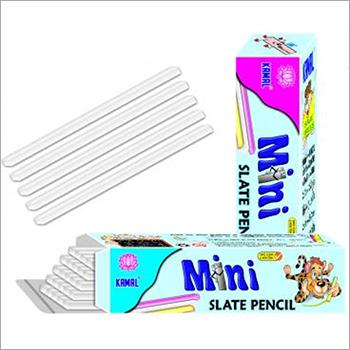 White Color Rectangle Shape Mini Slate Pencil