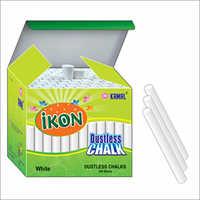White Color Cylindrical Shape Dustless Chalk