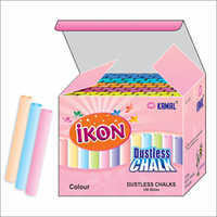 Mix Color Cylindrical Shape Dustless Chalk