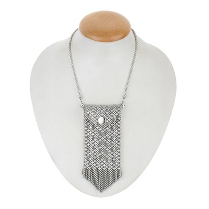 Silver Ladies Chain Necklace