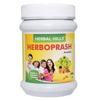 Herbal Hills Herbo Prash Awaleha, Natural Ayurvedic Chyavanprash Herboprash For Immunity, 500g
