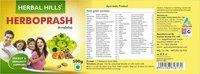 Herbal Hills Herbo Prash Awaleha, Natural Ayurvedic Chyavanprash Herboprash For Immunity, 500g
