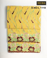 African Embroidery Swiss Voile Fabric