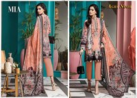 Agha Noor Vol-3 Lawn Cotton Pakistani Printed Salwar Suits Catalog