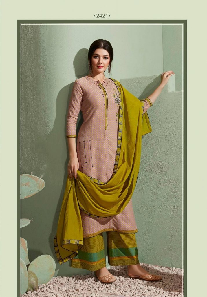Rangoon Stepup Vol 3 South Cotton Readymade Suit With Plazzo Cataog