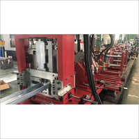 Fully Automatic CNC C Z And U Purlin Machine With 9 Punching Station