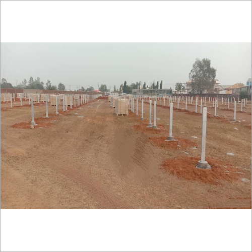 Solar Column Post