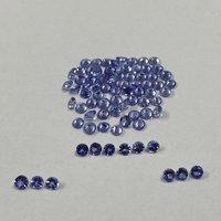 3mm Tanzanite Faceted Round Loose Gemstones