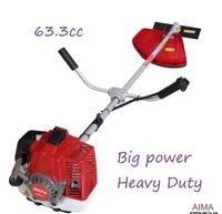 3HP 63CC Heavy Duty Petrol Grass Brush Cutter