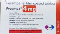 Perampanel Film Coated Tablets