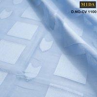 BOX jacquard cotton voile fabric