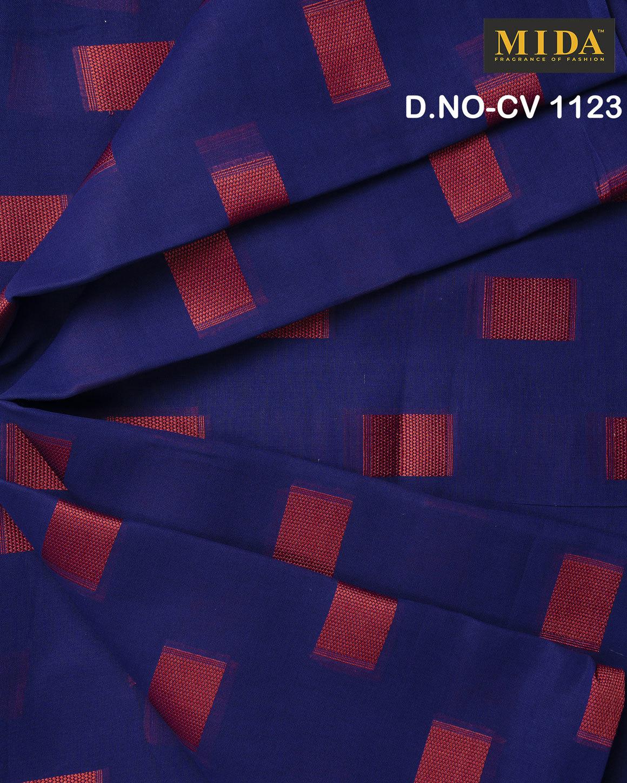 Fancy Box Jacquard Cotton Voile Fabric