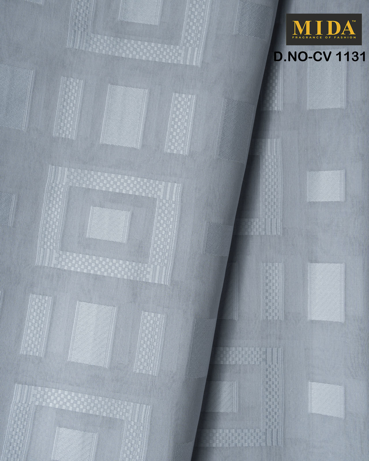 Exclusive Box  Jacquard Cotton Voile Fabric