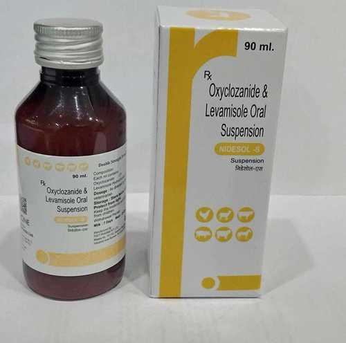 NIDESOLE-S ( OXCYCLOZANIDE & LEVAMISOLE ORAL SUSPENSION) 90ML