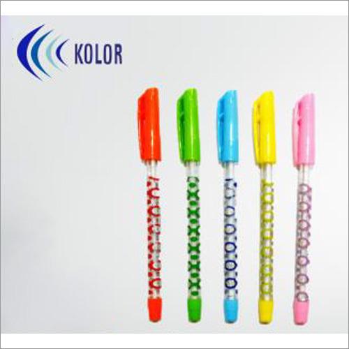 Olive Cap Foil Printed Ball Pens