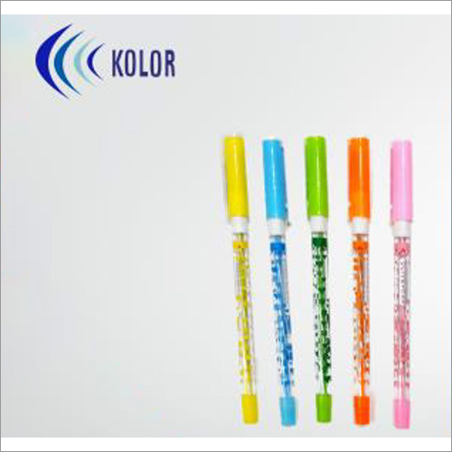 Olive Cap Foil Printed Rubbergrip Ball Pens