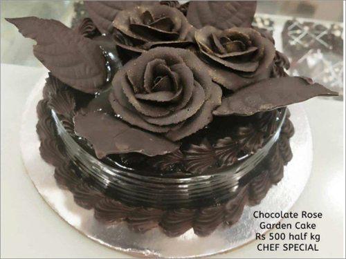 Chocolate Rose Garden Cake