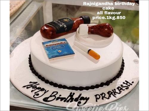 Rajnigandha Birthday Cake