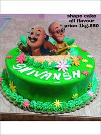 1 KG Shape Cake