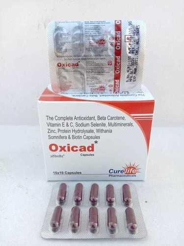 Multivitamins with Antioxidant Capsules