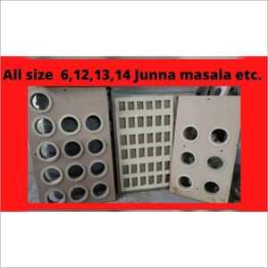 Scrubber and masala Packing Die