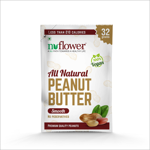 Natural Peanut Butter Sachet
