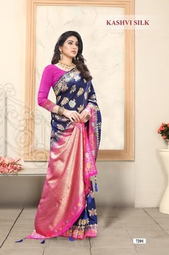 Party Wear Banarasi Soft Silk Patola Wedding wear Saree