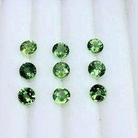 6mm Mint Kyanite Faceted Round Loose Gemstones