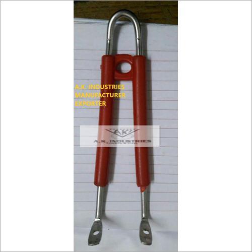 Red Colour Frypan Handle