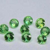 7mm Mint Kyanite Faceted Round Loose Gemstones