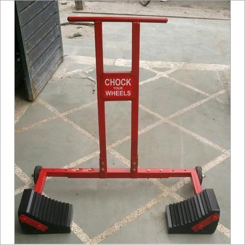 Truck Wheel Chocks With Trolley Wheels