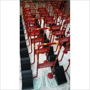 Truck Wheel Chocks With Stand