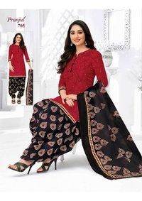 Pranjul Prinyanka Vol 7 Pure Cotton Dress Material