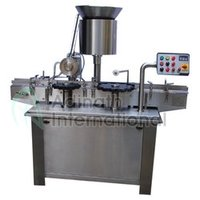 Semi Automatic Vial Cap Sealing Machine
