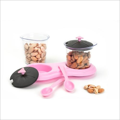 2 In 1 Dry Fruits Storage Container