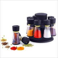 8 Jar Spice Rack