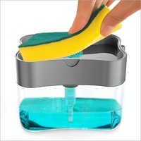 2 In 1 ABS Plastic Liquid Soap Press Type Pump Dispenser
