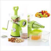 Green Plastic Hand Juicer