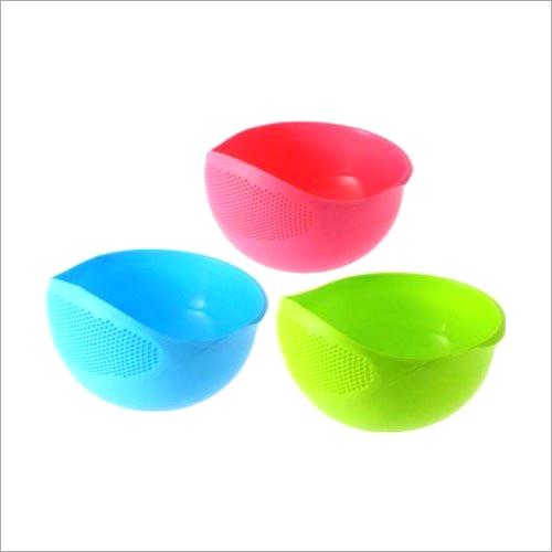 Plastic Fruit And Rice Washing Bowl