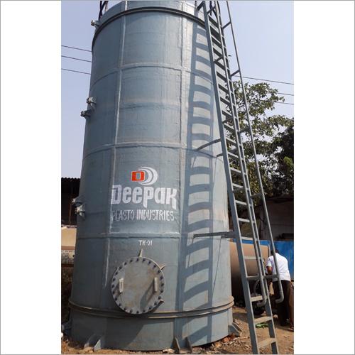 Vertical FRP Storage Tank