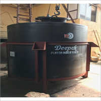 Spiral HDPE Holding Storage Tank