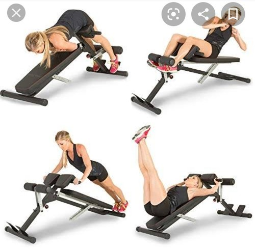Abs Crunches Bench