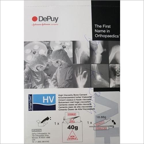 Depuy Smartset HV Bone Cement
