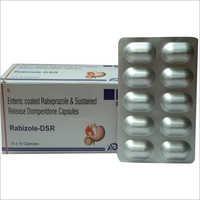 Enteric Coated Rabeprazole and Sustained Release Domperidone Capsules