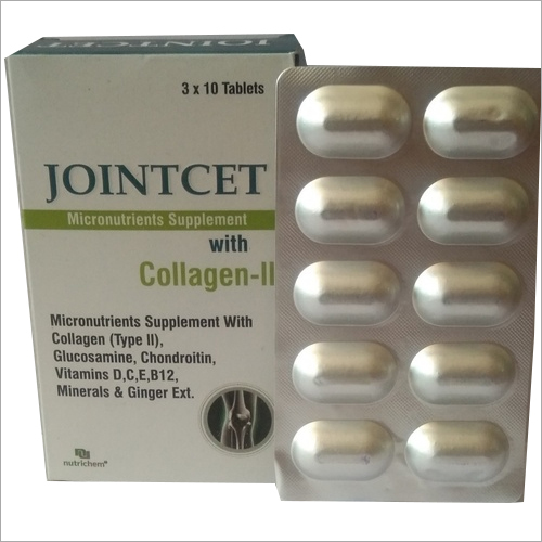 Micronutrients Supplement with Collagen (Type-||) Tablets