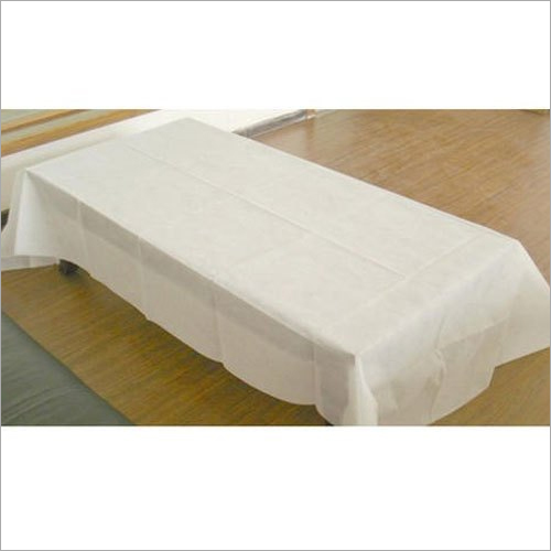 White Disposable Bed Sheet